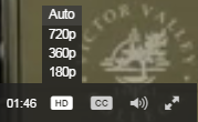 Video Quality Options